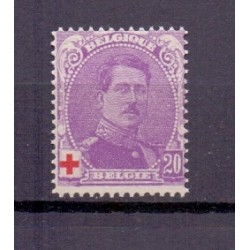 België 1914 n° 131a**...