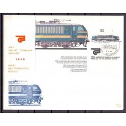 België 1985 n° BL61FDC trein