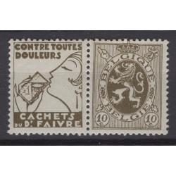 België 1929 n° PU8**...