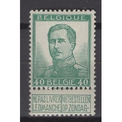 België 1913 n° 121V4**...