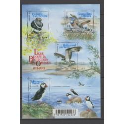 France 2012 n° A360 birds...