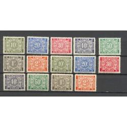 Belgium 1945 n° TX49/55A used