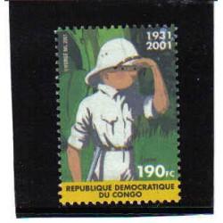 CONGO 2001 N° 2092 TINTIN...