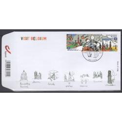 België 2012 n° 4216/17FDC**...
