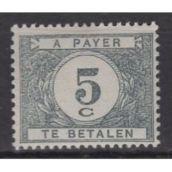 Belgium 1922 n° TX32a** mnh...