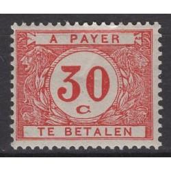 Belgium 1924 n° TX35a** mnh...