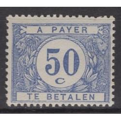 Belgium 1922 n° TX38a** mnh...