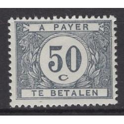 Belgium 1922 n° TX39a** mnh...