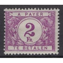 Belgium 1922 n° TX47a** mnh...
