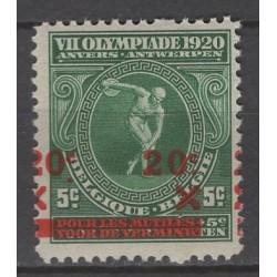 Belgium 1921 n° 184V** mnh...