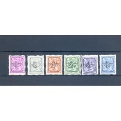 België 1977 n° PRE800/805**...