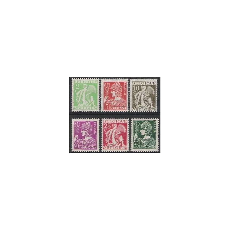 Belgium 1932 n° 335/40** MNH