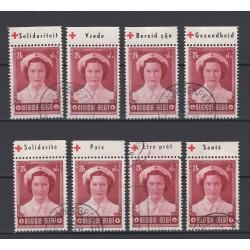 België 1953 n° PU172/179...