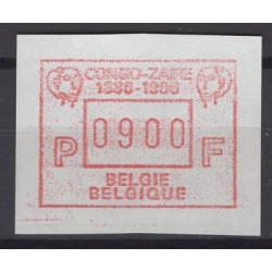 Belgium 1986 n° ATM61** mnh...