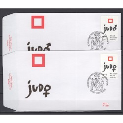 België 1997 n° 2703/04FDC Judo