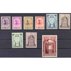 Belgium 1932 n° 342/50** MNH