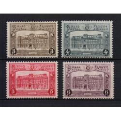 Belgium 1929 n° TR170-73 used