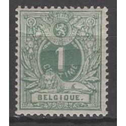 Belgium 1880 n° 26B** mnh...