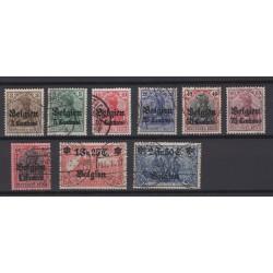 Belgium 1914 n° OC1/9 used