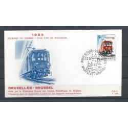 Belgium 1969 n° 1488FDC Train