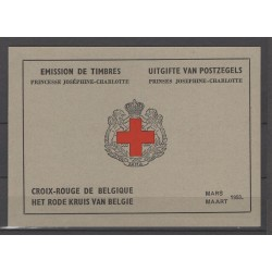 Belgium 1953 n° 914A red...