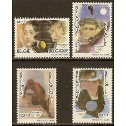 Belgium 1992 n° 2439/42** MNH