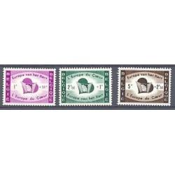 Belgium 1959 n° 1090/92** MNH