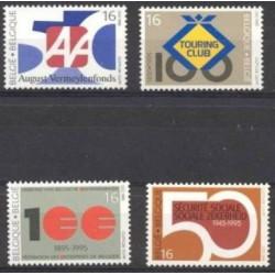 Belgium 1995 n° 2585/88** MNH